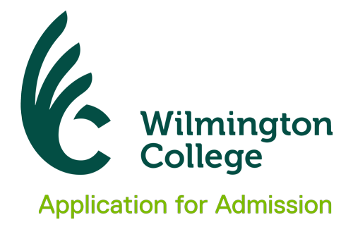 Wilmington College Application for Admission